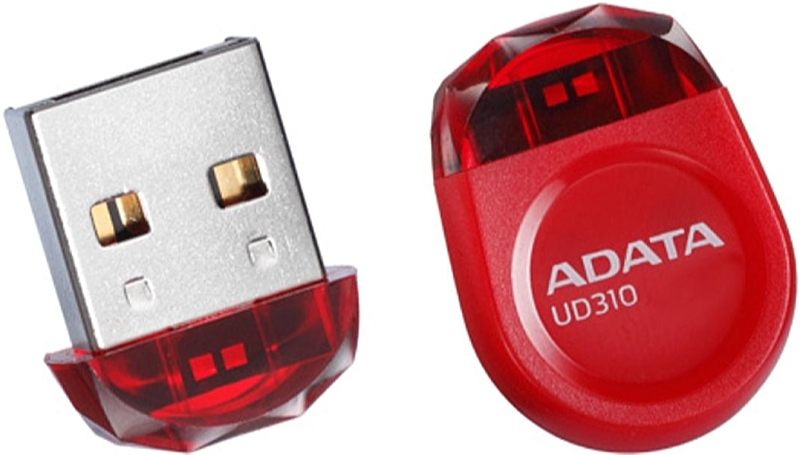 A-DATA - Memória Pen Drive - A-DATA AUD310-8G-RRD 8GB USB 3.0 Pendrive, piros
