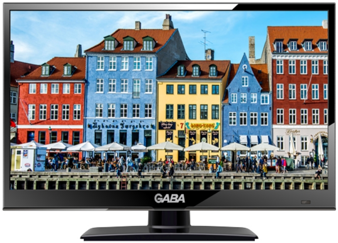 Gaba - Monitor TV LCD - GABA GLV-1600 16' LED HD TV