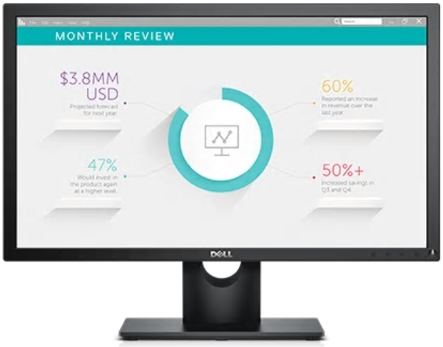 Dell - Monitor LCD TFT - Dell 23' E2318H IPS FHD monitor, fekete