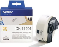 Brother - Printer Matrix szalag ribbon - Brother DK11201 Standard 29 x 90mm, 400db etikett