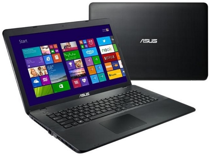 ASUS - Notebook - Asus X751NV-TY006 17,3' N3450 4G 1Tb GT920MX/2G Linux notebook